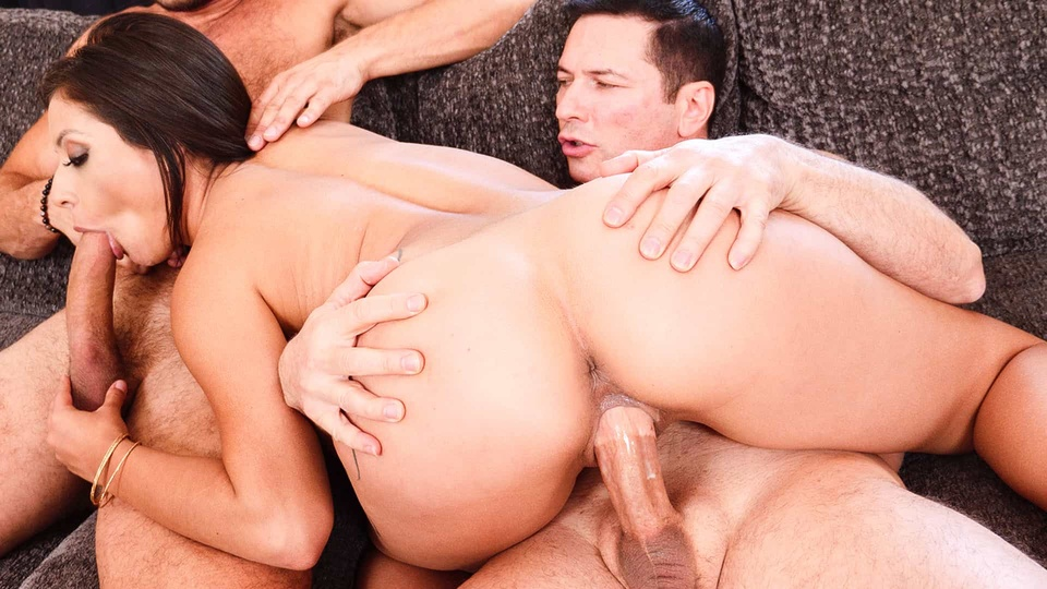 Daddy & Son Share Pussy