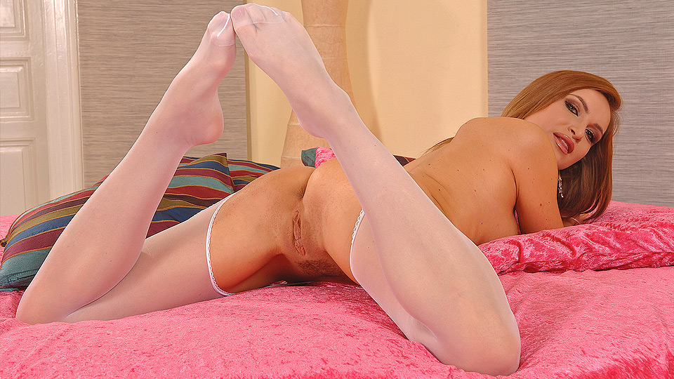 Pantyhosed for pleasure!