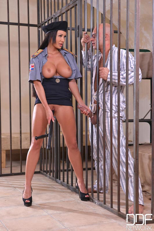 Busty guard patty michova gets nailed by inmate - 1 part 6