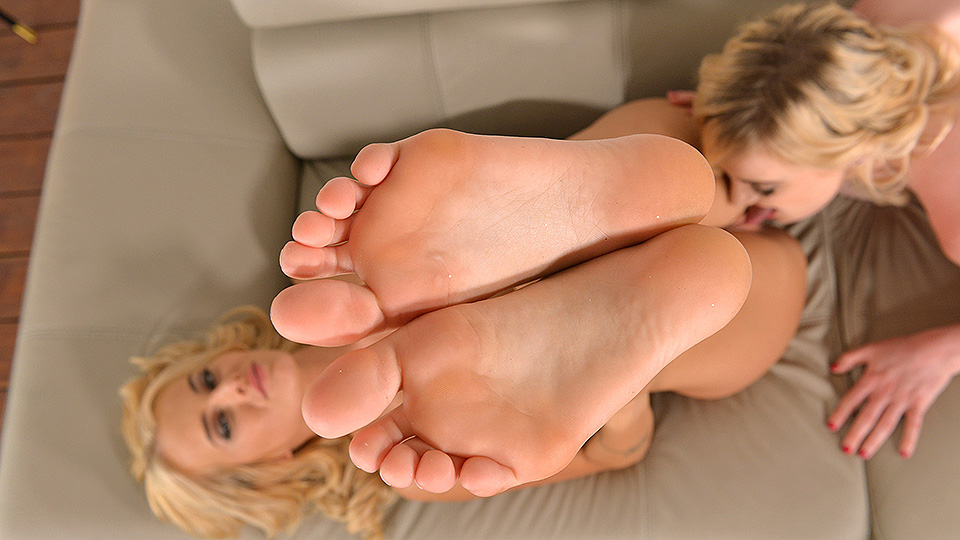 The Beauties And The Feast - Sucking Toes And Licking Shoes