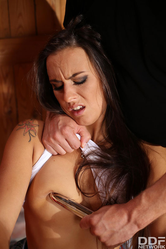 Ass Stuffing Practices: A Czech Babe's Role Play Fetish Porn #11