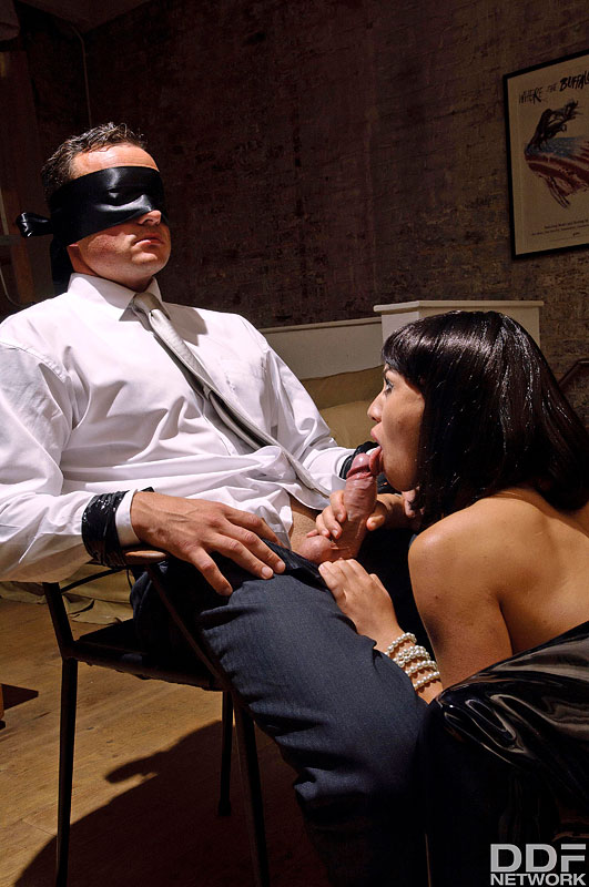 Late Night Fetish Fuck: Dominant Milf Blindfolds Husband #6