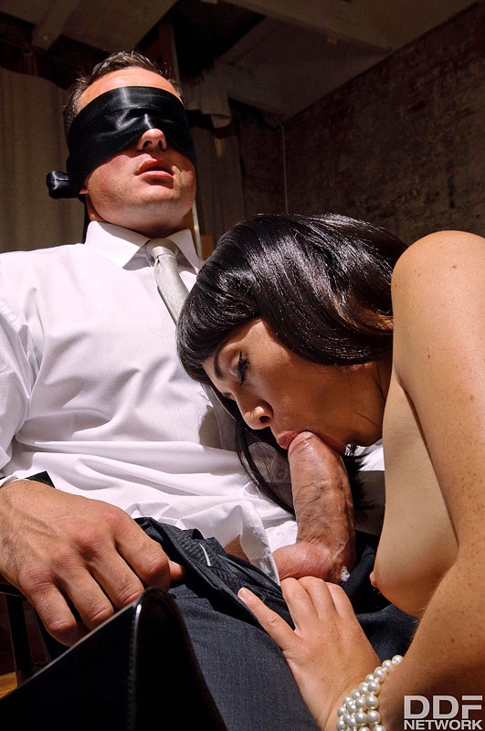 Late Night Fetish Fuck: Dominant Milf Blindfolds Husband #8