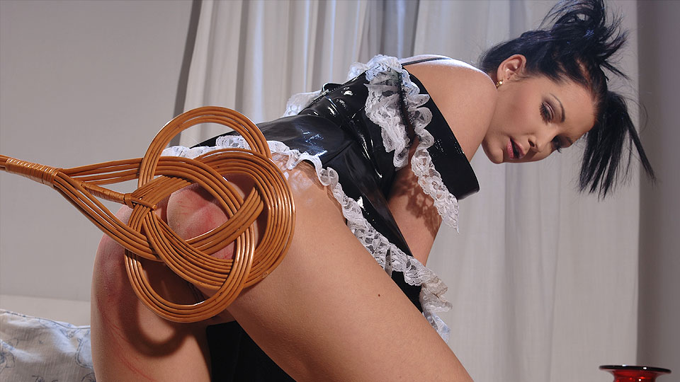 Sexy Maid Gets Punished