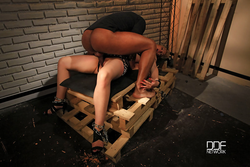 Bound babe clipped & fucked #5