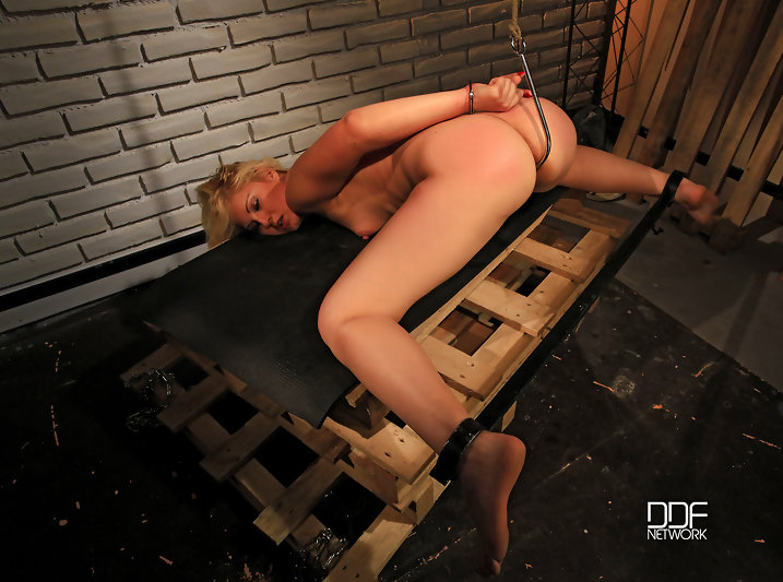 Bound babe clipped & fucked #7