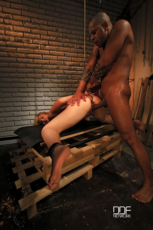 Bound babe clipped & fucked #8