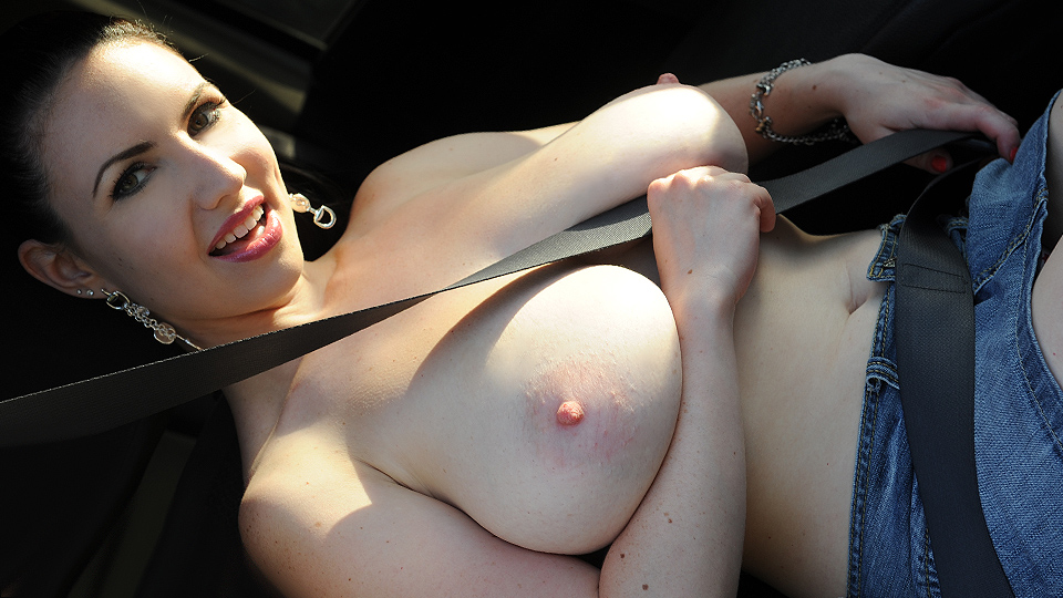 Popping out of her Top!