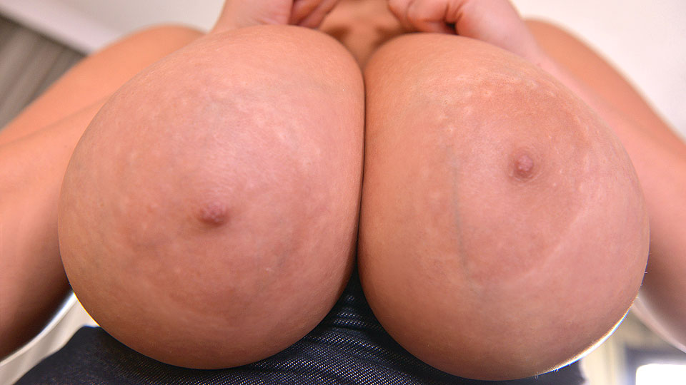 Big Jugs Exposed - Hot Bombshell With Big Tits Loves Vibrator