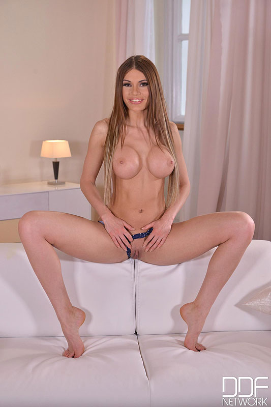 Fast and Furious Fingering - Russian Babe Rubs One Out #11