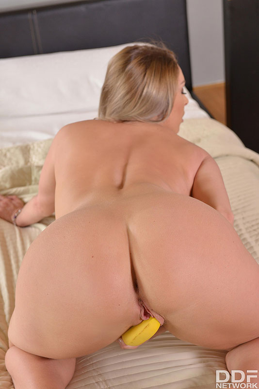 Solo Bedroom Romp - She Bangs Her Banana  #11