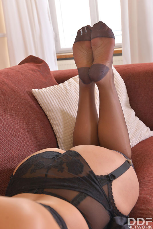 Straight Outta Heaven: Hot Leggy Milf Licks Her Tasty Toes #5