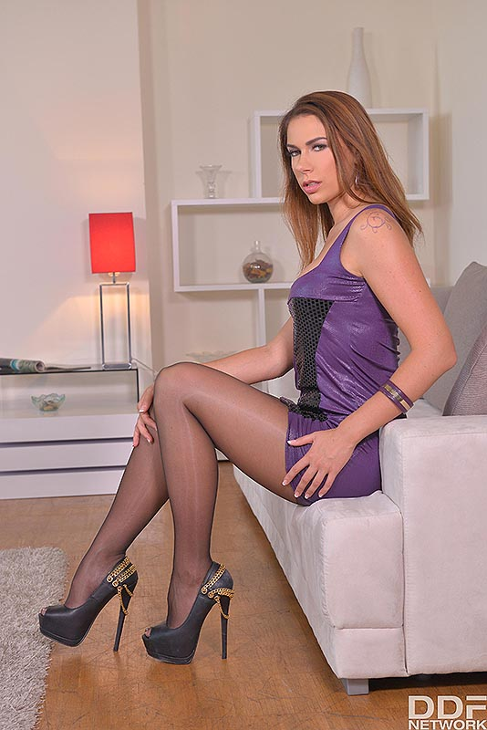 Legs To Die For: Russian Bombshell Loves Shoe Play #3