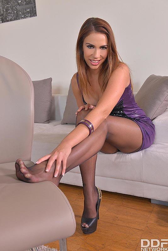 Legs To Die For: Russian Bombshell Loves Shoe Play #4