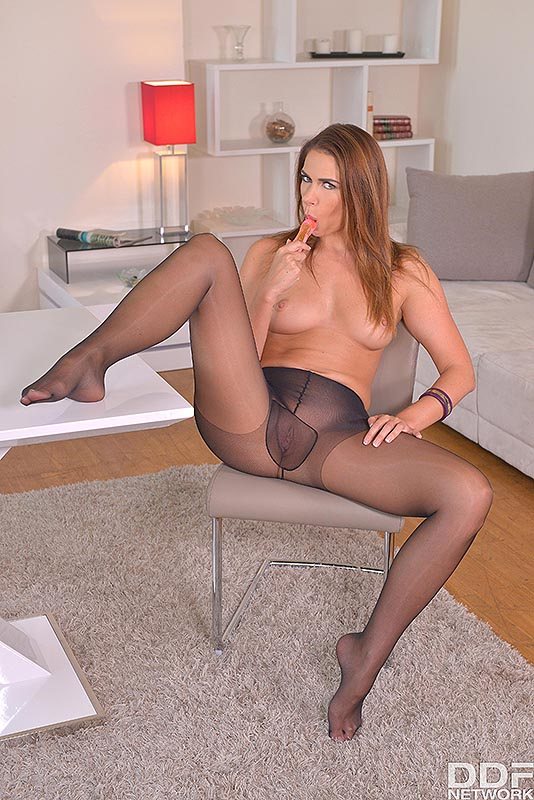 Legs To Die For: Russian Bombshell Loves Shoe Play #9