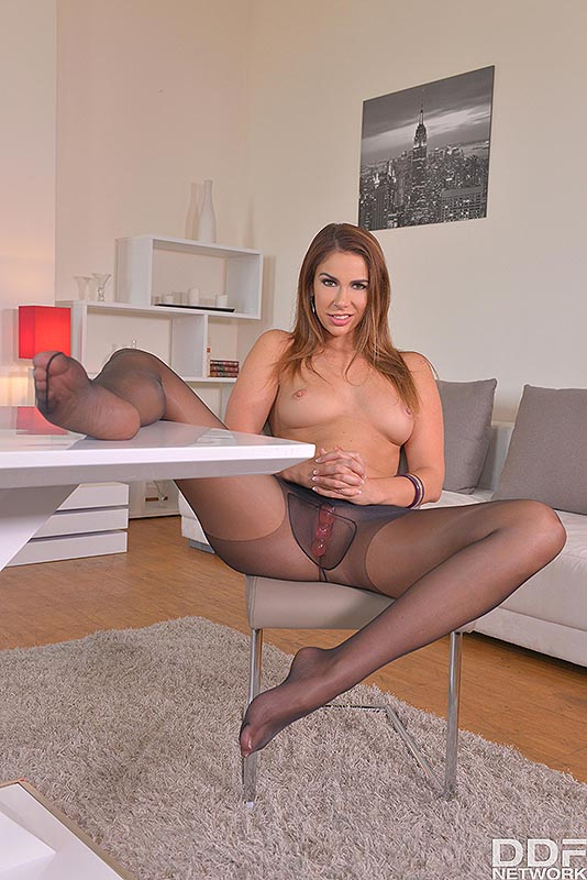 Legs To Die For: Russian Bombshell Loves Shoe Play #10