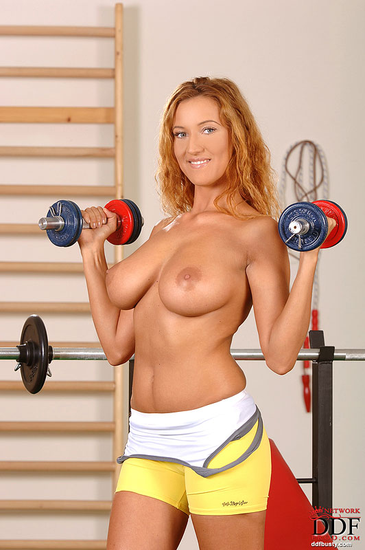 Working out tits big