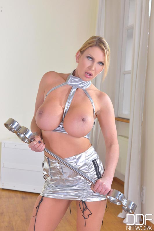 Fucking Outta Space - Horny BDSM Lesbians In Silver Suits, Part  #1
