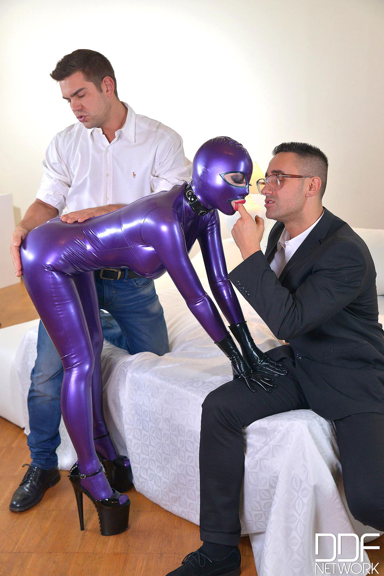 Latex Spanking Therapy, Part 1 #4