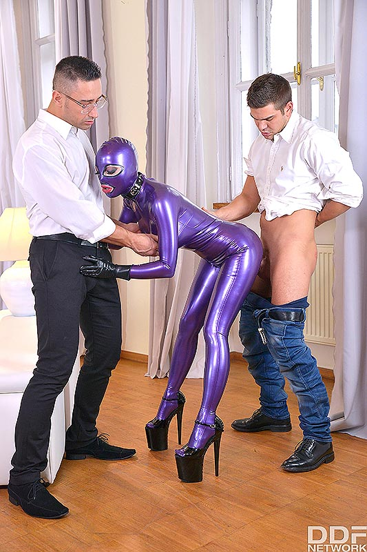Ddfporn Latex Lucy Spanking Therapy Part Pornvibe 1