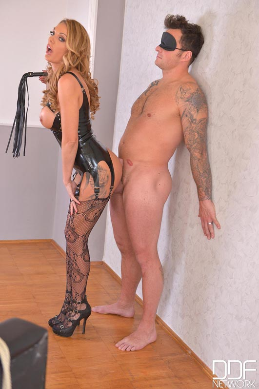 British Dominatrix Uses Stud for Pussy Pleasure Program #2