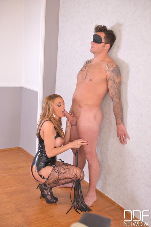 British Dominatrix Uses Stud for Pussy Pleasure Program #3