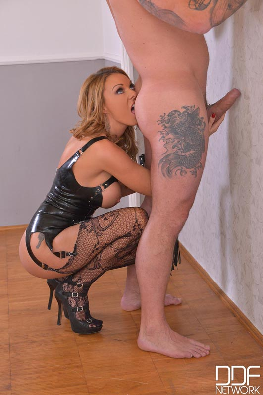 British Dominatrix Uses Stud for Pussy Pleasure Program #5