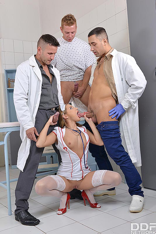 Goldfinger's Medication - Hot New Face Blows Three Cocks #9