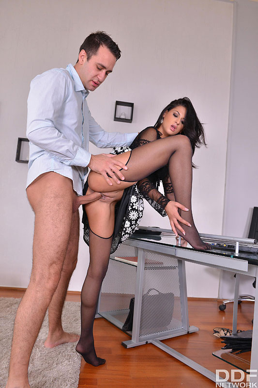 Tight Thighs Straddled - Licking The Boss' Wife's Feet #2