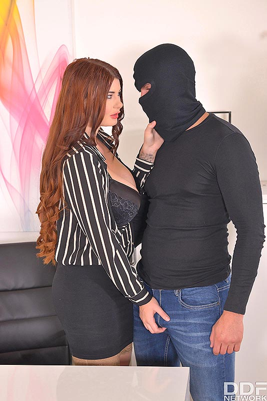 Horny Self-Defense - Hardcore Office Fuck And Cum On Tits #2