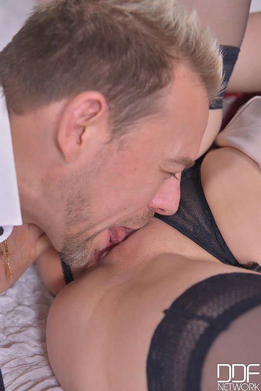 Merry Fuckmas - Cramming A Blonde's Wet Pussy Doggy Style #5