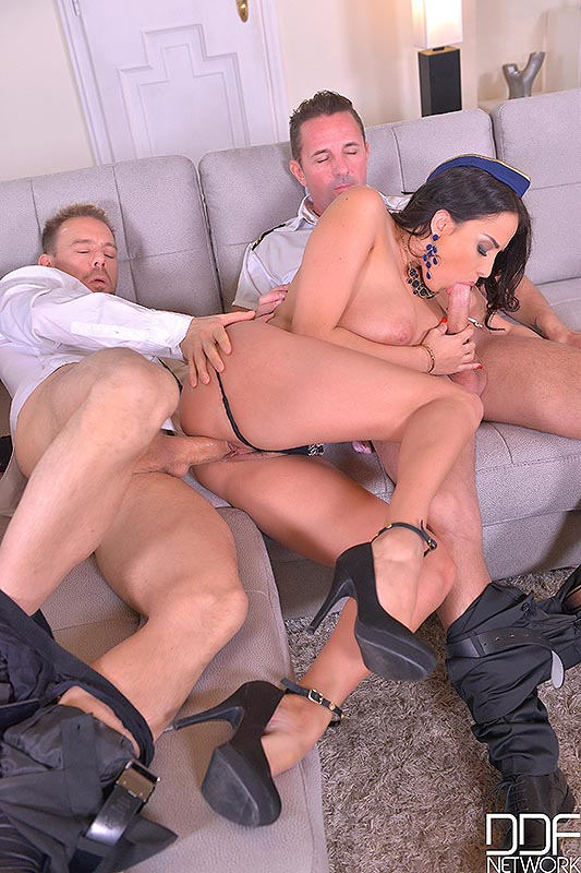 Ready For Jackoff: Busty Babe Titty Fucked And Ass Fingered! #8