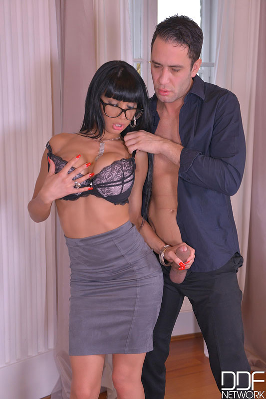 Orgasmic Distraction: Wanton Babe Rides Dick With Asshole #5