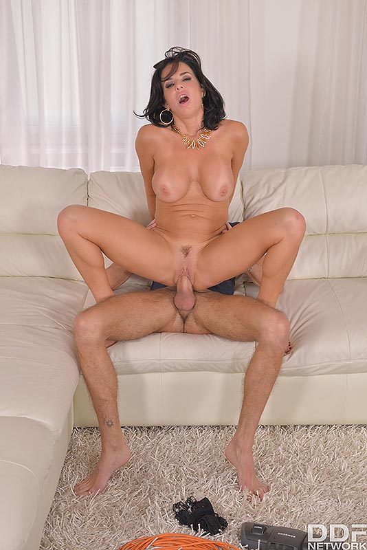 Juicy Love Making: Cum Covered Tits And A Squirting Pussy! #8