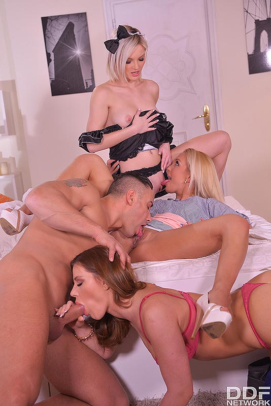Stacked To Fuck: Stud Fingers, Licks & Bangs 3 Horny Chicks #7