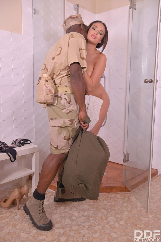 Avid For A Soldier's Cum #3