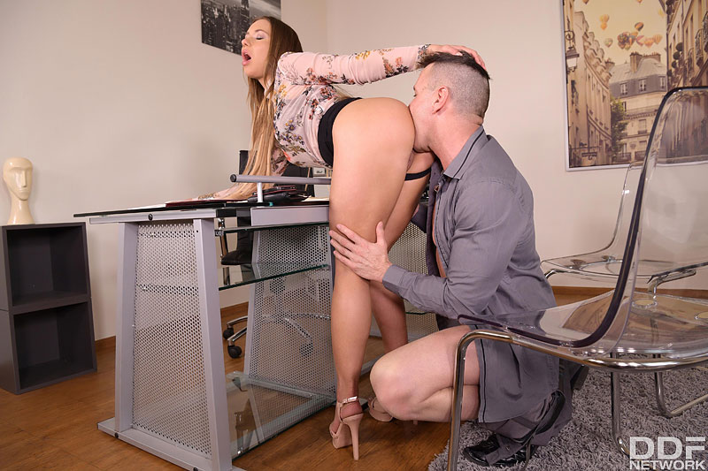 Office Double Penetration #5