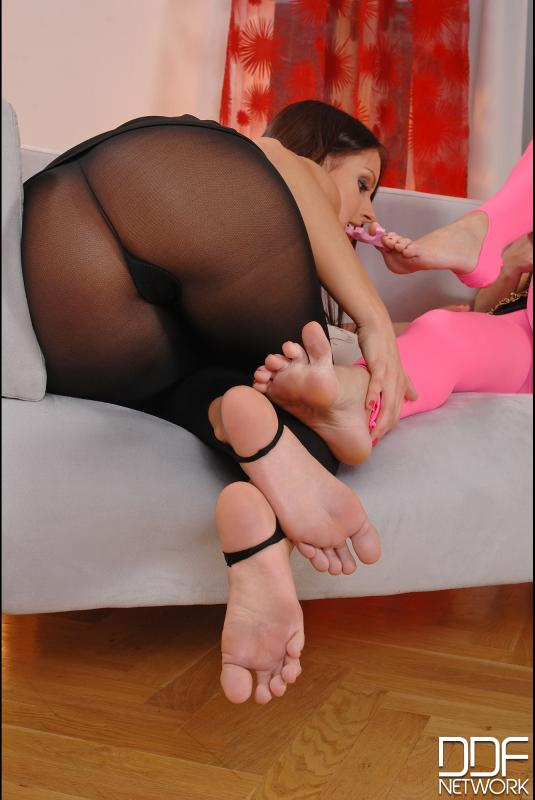 3-way kink-a-thon in tights! #4