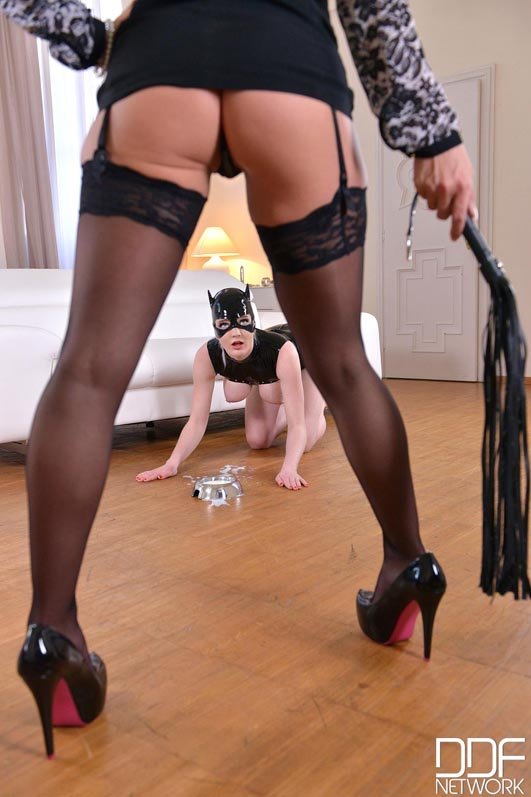 Dominatrix Gives Submissive Lots of Spanking, Part 1 #11