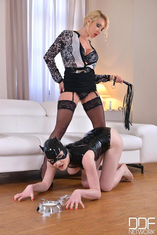 Dominatrix Gives Submissive Lots of Spanking, Part 1 #12