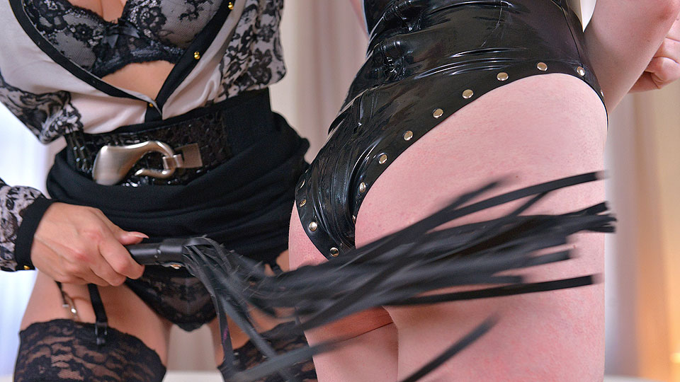 HouseOfTaboo - Dominatrix Gives Submissive Lots of Spanking, Part 1