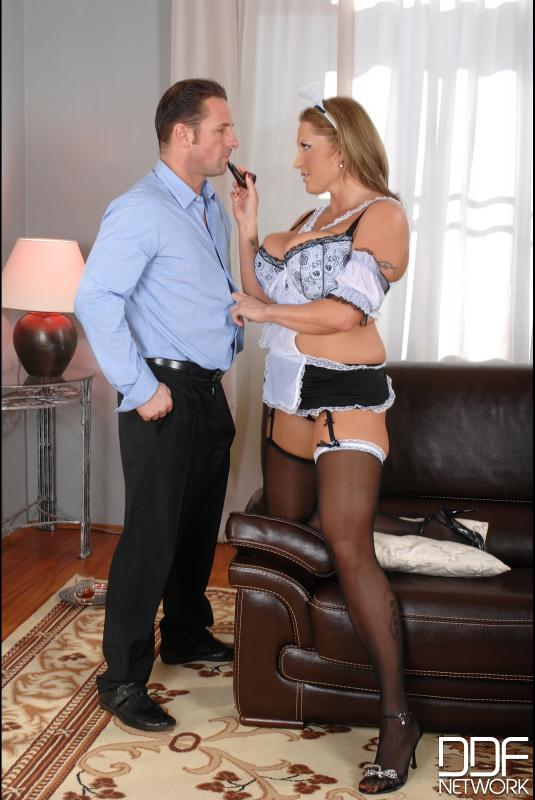 Laura cleans out his cock! #12