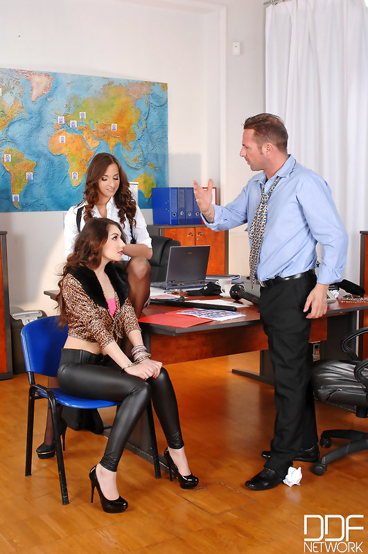 4 Holes To Fill: Officer Fucks Two Babes At Police Station! #8