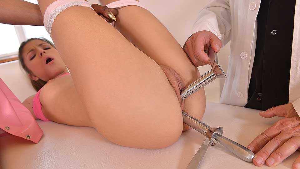 Screen That Teen - A Doctor's Hardcore Fetish Threesome