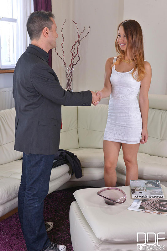 Talent Scout - Young Dutch Teen Shows Off Her Fucking Talents #3