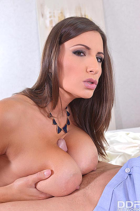 Romanian Busty Sex Goddess Titty Fucks Hung Stud #4