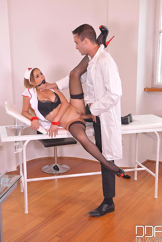 Backdoor Clinic - Submissive Russian Nurse Fucked in The Ass #3
