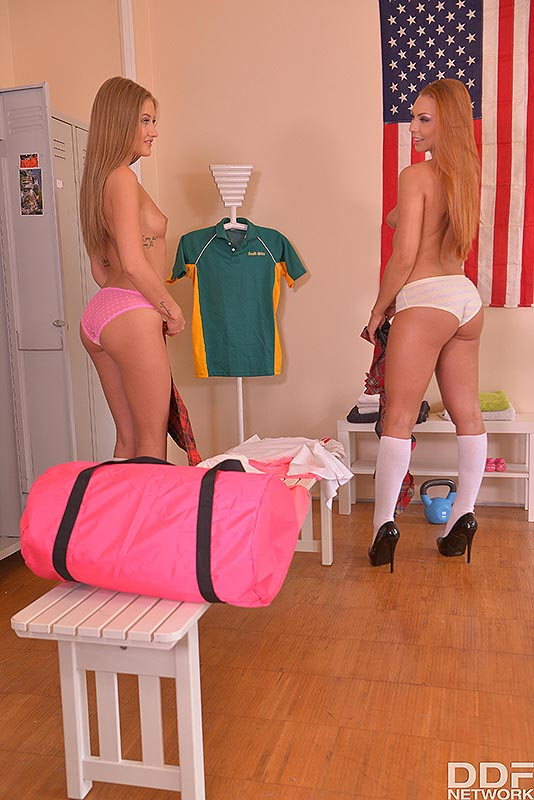 Sisters Suck the Coach #4