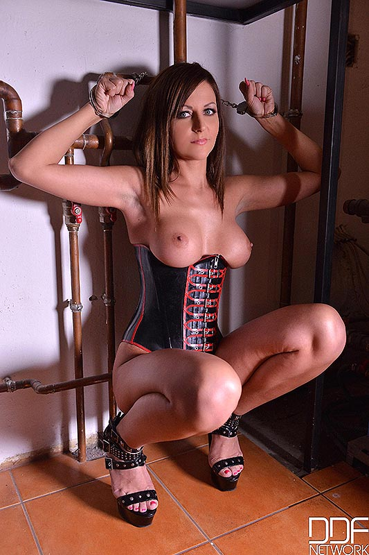 BDSM Fantasies - Sexy New Face Prepares For Humiliation #5