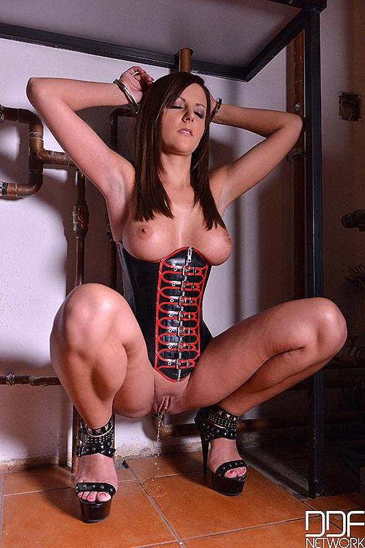 BDSM Fantasies - Sexy New Face Prepares For Humiliation #7